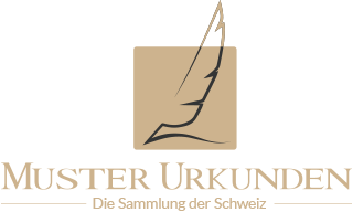 Muster Urkunden Die Sammlung Der Schweiz